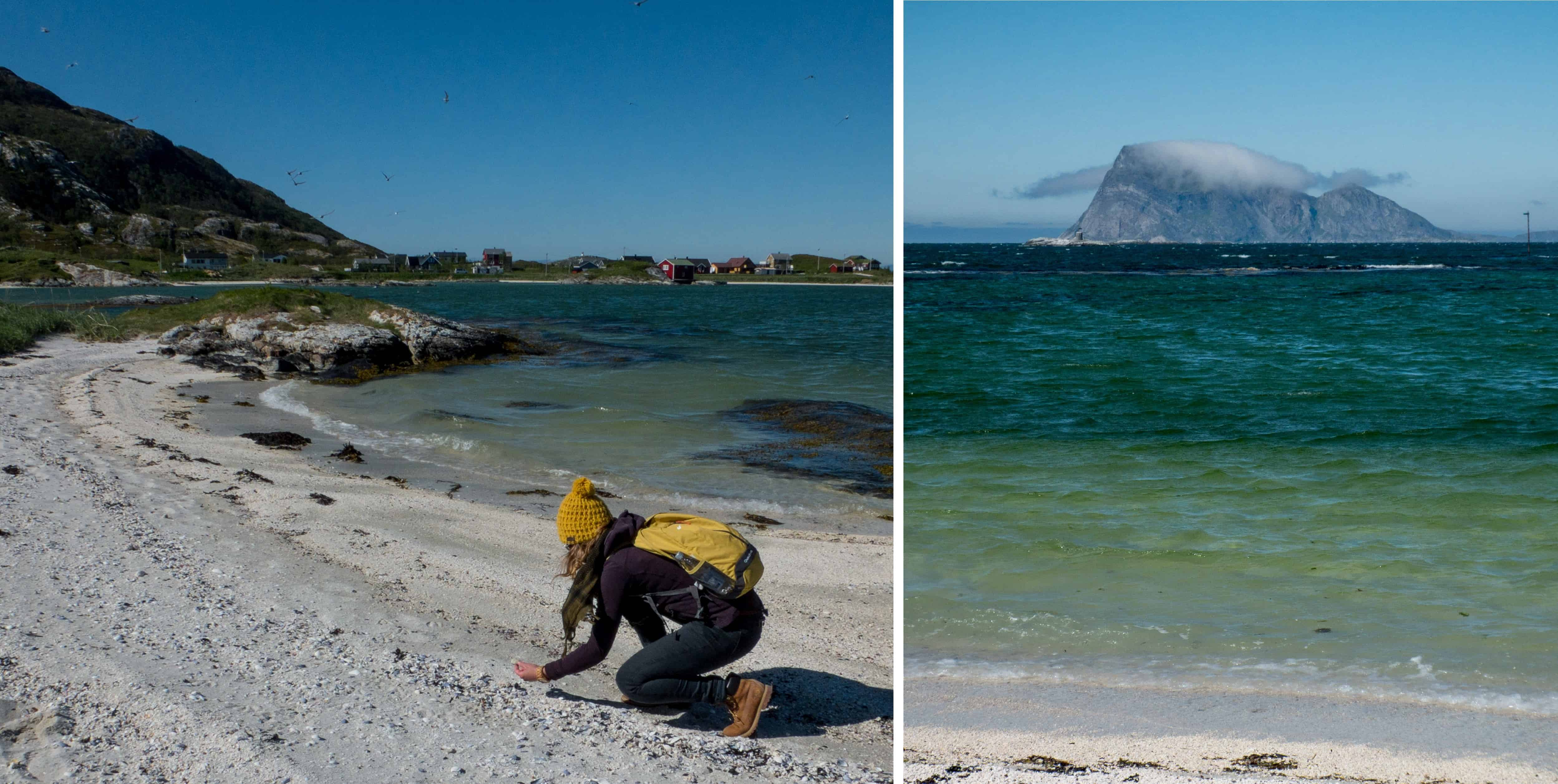 De eilandengroep Sommerøya, bekend om de spierwitte stranden