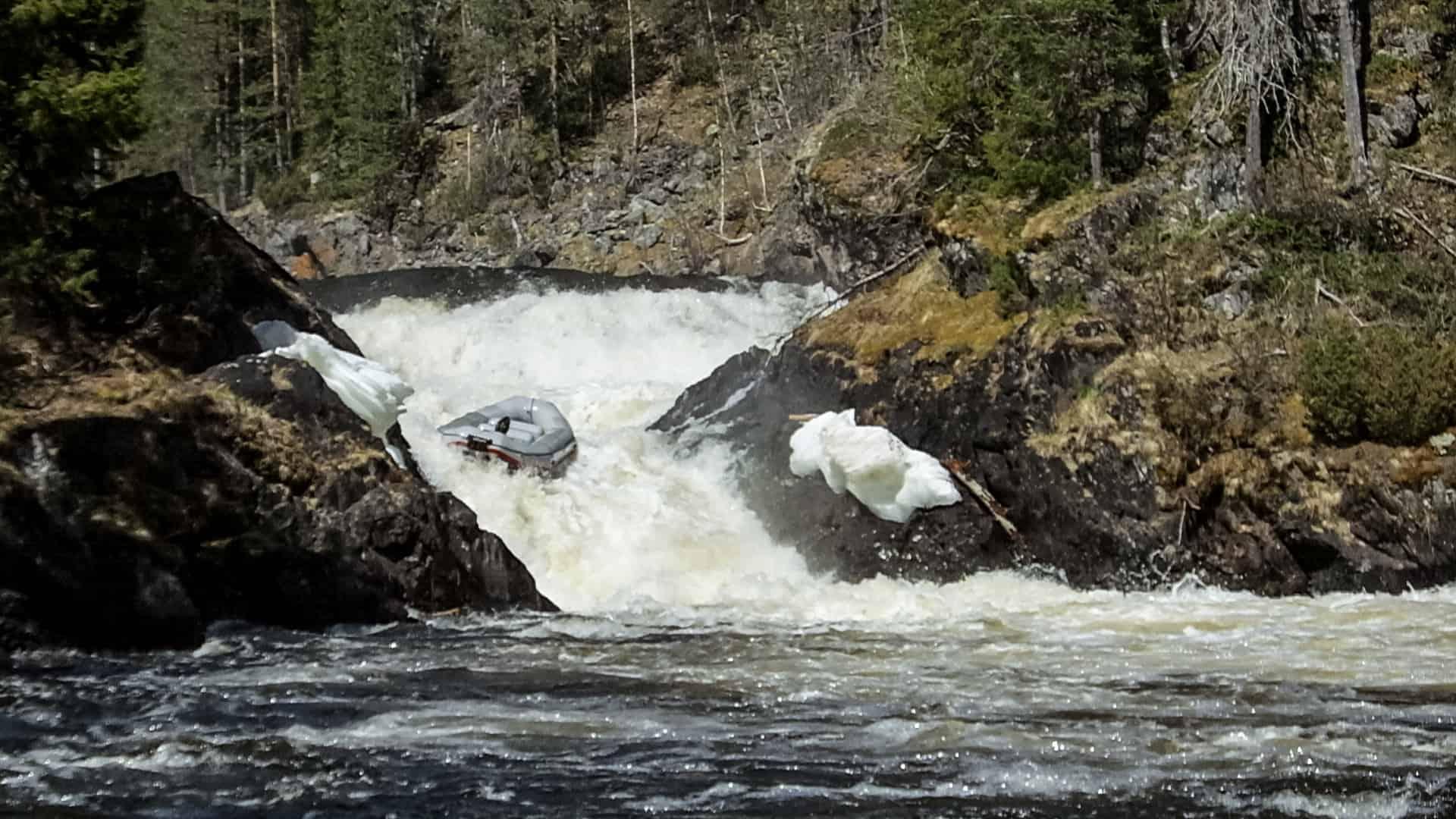 Raften op de Kitkajoki rivier
