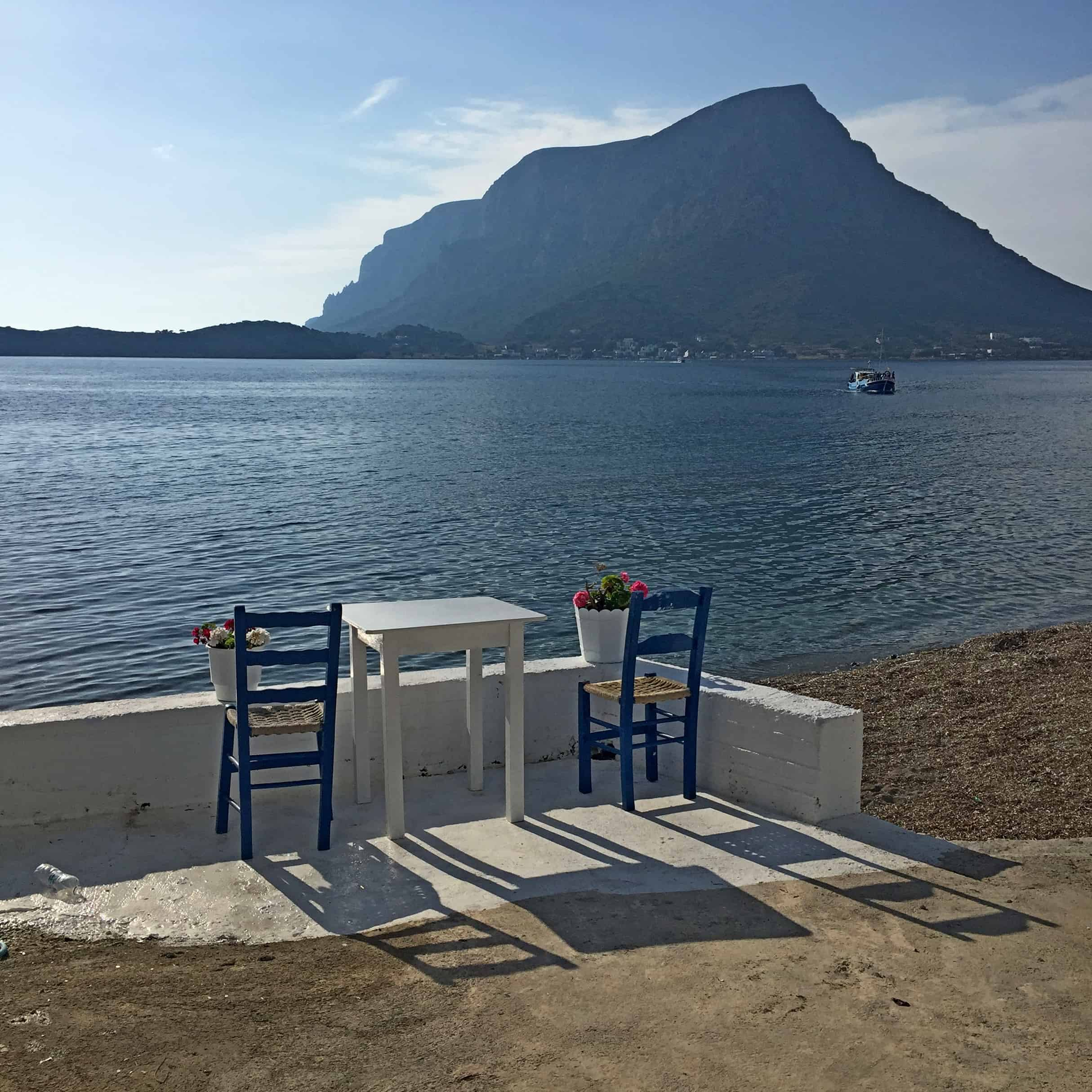 Grieks tafereeltje op Kalymnos