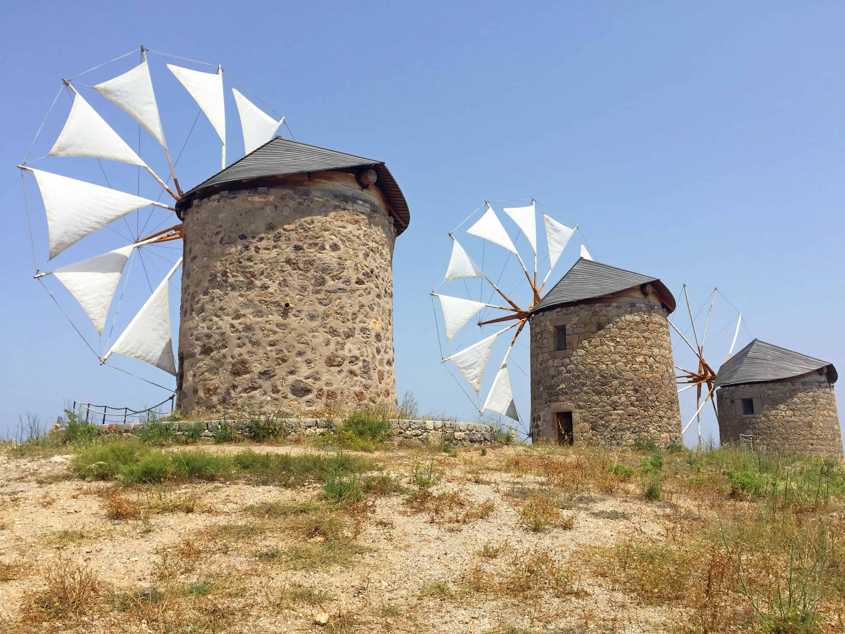 De molens bij Hora