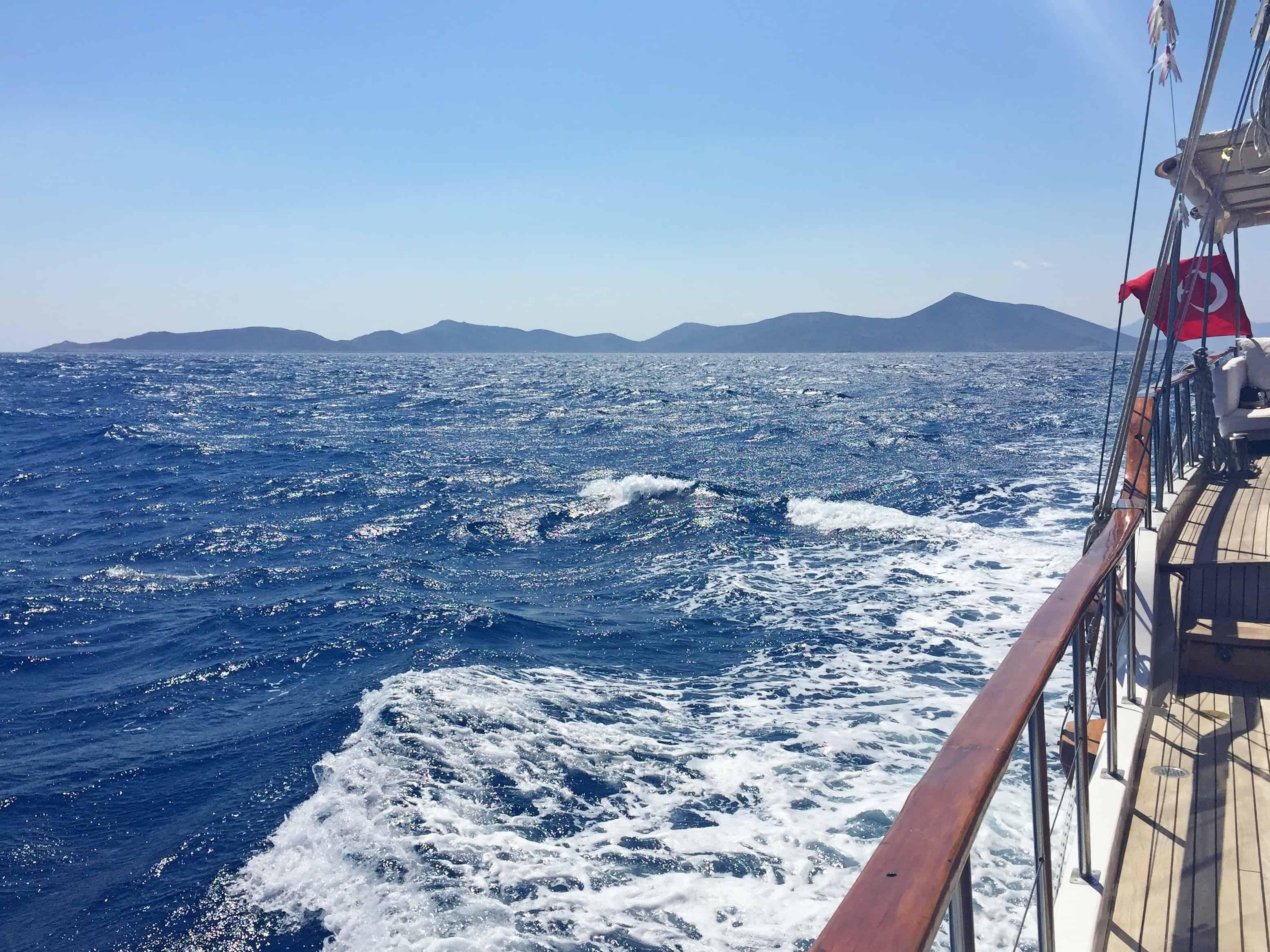 Het blauw van de Egeïsche Zee