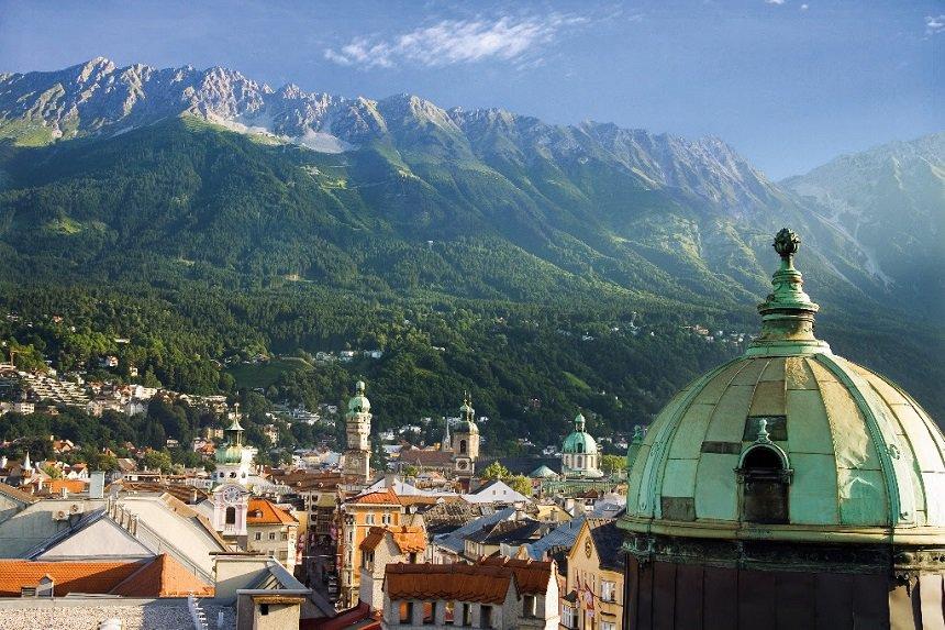 Innsbruck in de zomer