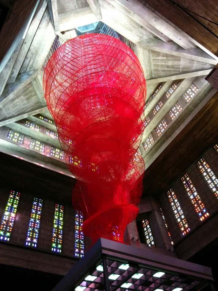 Kunst in de St. Joseph kerk van Le Havre