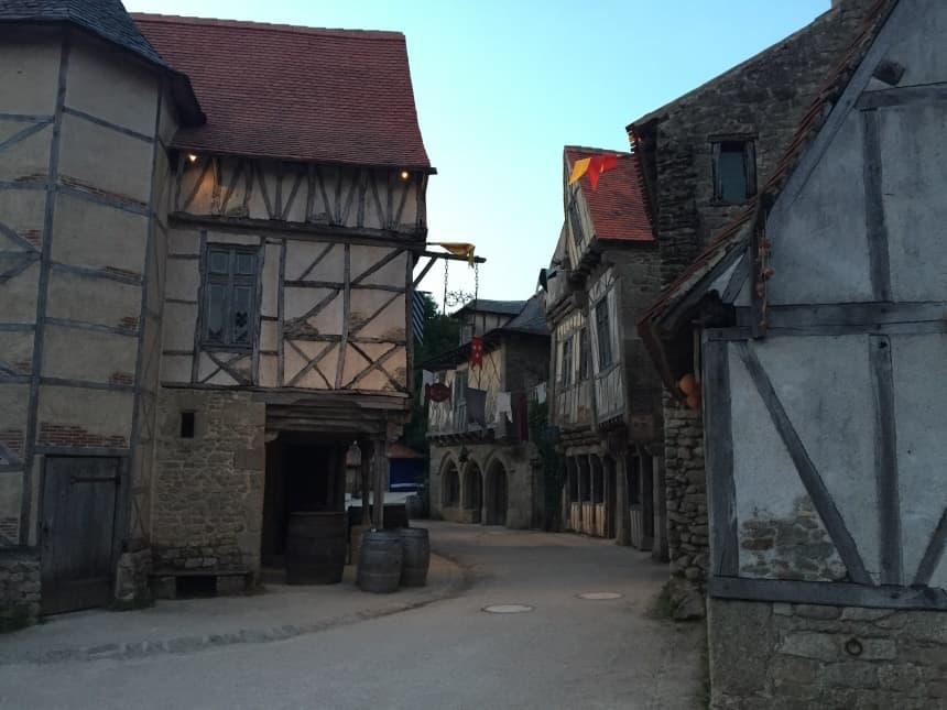 La Cité Médiévale, middeleeuws dorpje in Puy du Fou