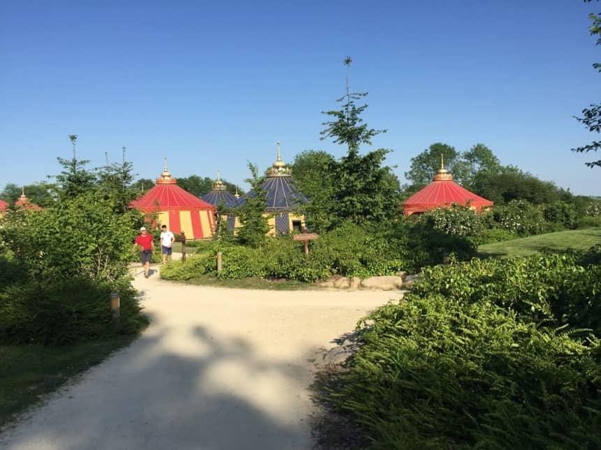 Camping Le Camp du Drap d'Or in Puy du Fou