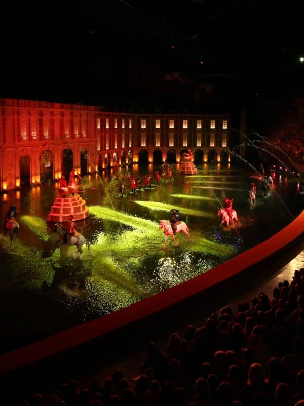 Mousquetaire de Richelieu show in Puy du Fou, Frankrijk