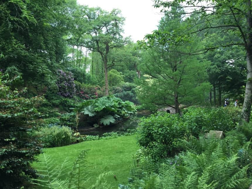 Prachtige natuur in Puy du Fou