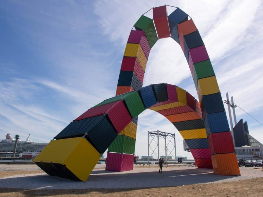 Kunstobjecten langs de wandelroutes vieren 500 jaar La Havre