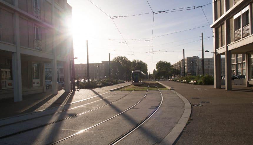 Tram in Le Havre