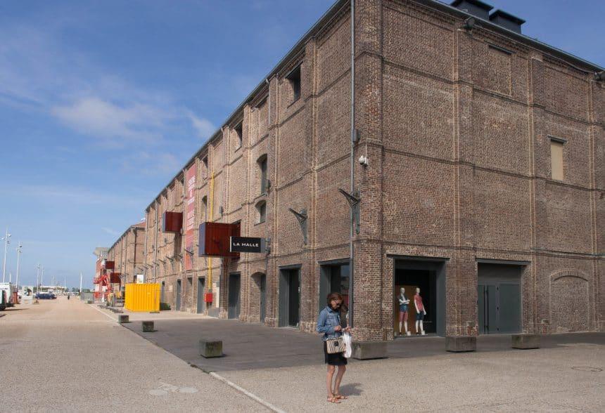 Omgebouwde pakhuizen in Le Havre