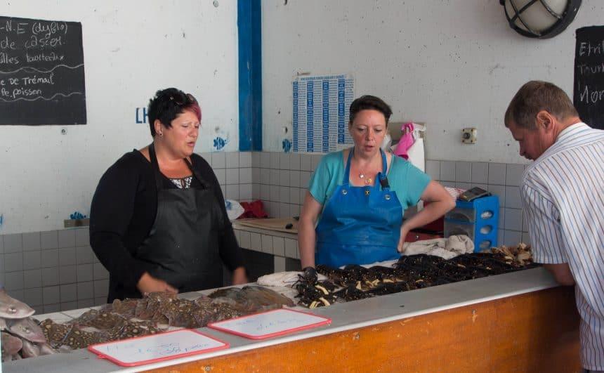 Vismarkt in Le Havre