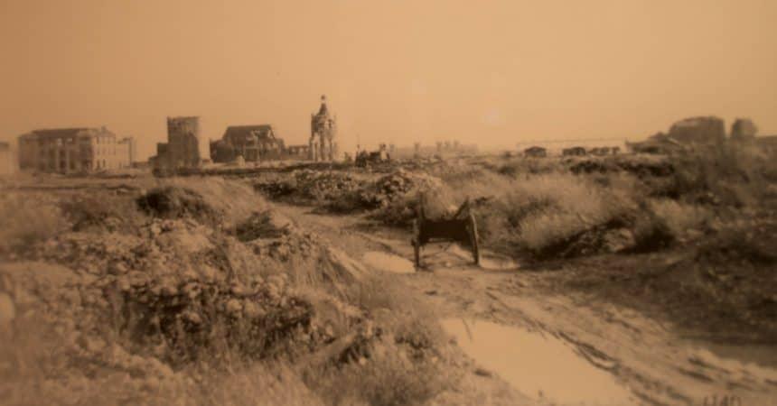 Verwoesting van Le Havre in 1944