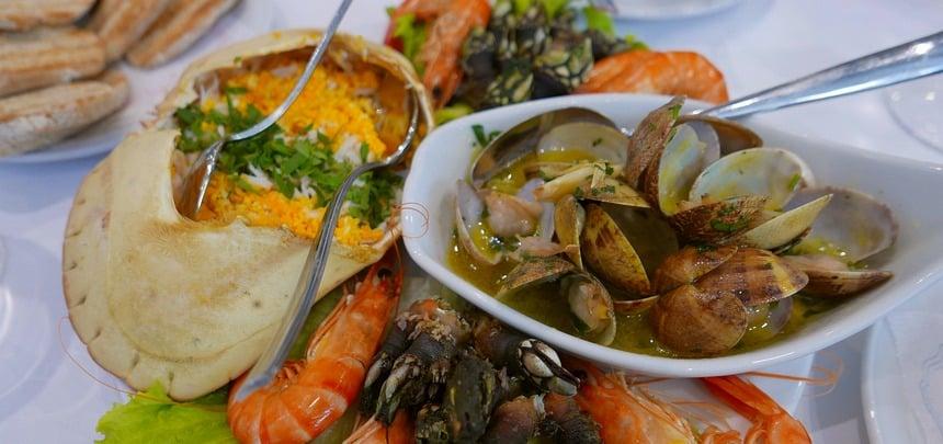 Portugees eten bij mensen thuis is zó leuk...