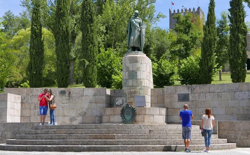 In het stadje Guimarães vocht Portugal zich in 1100 onafhankelijk van Spanje.