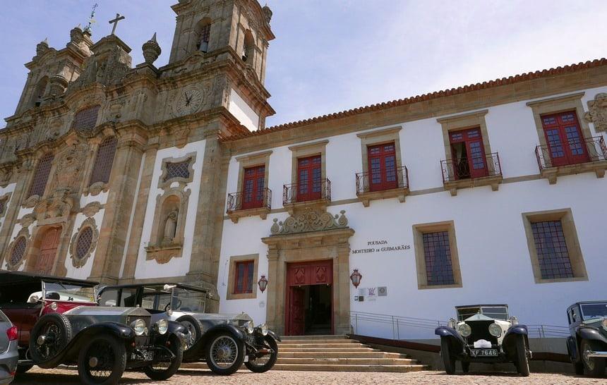 Pousada Mosteiro de Guimaraes. Eten en slapen in stijl.