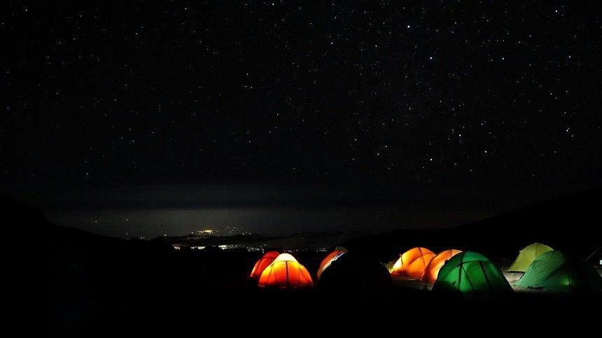 Sterrenhemel Kilimanjaro