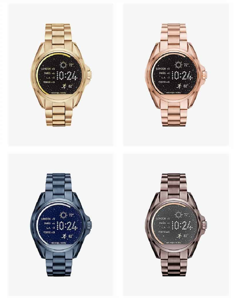 Michael Kors horloge Bradshaw Access smartwatch