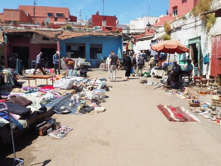 Arme deel van de Medina