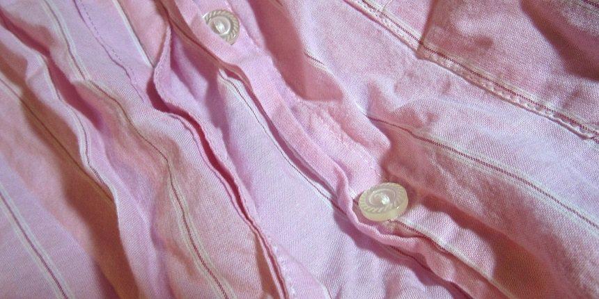 gekreukte kleding
