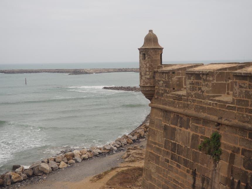 In Rabat is het mogelijk om in de zee te zwemmen