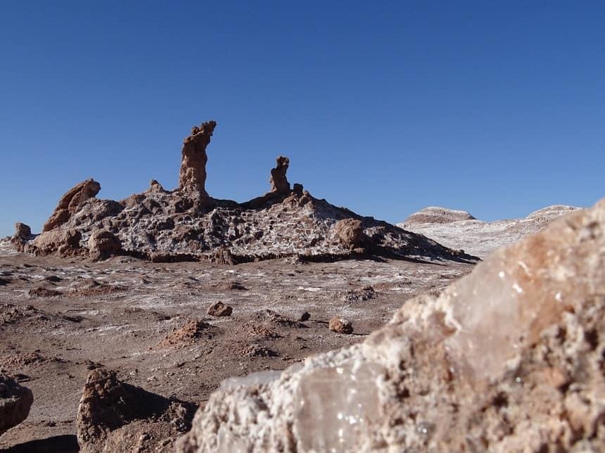Las tres Marías, Valle de la Luna, San Pedro de Atacama