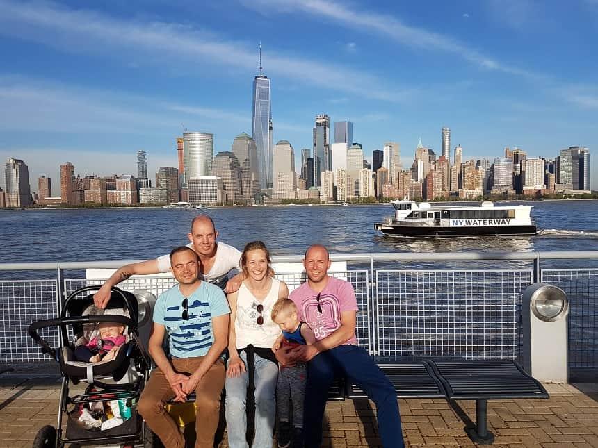 new york met kinderen