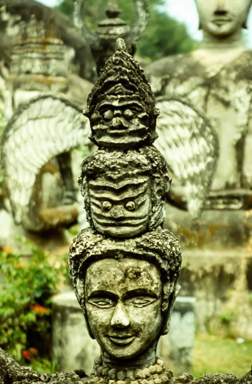 Boeddha park Laos