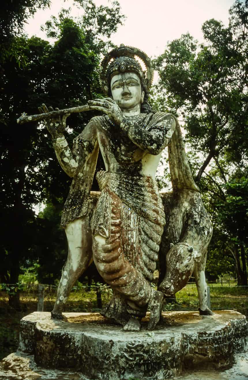 Boeddha park Vientiane