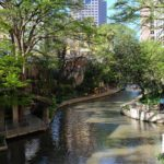 Langs de oevers van de San Antonio River
