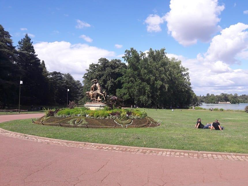 het prachtige park Tête d'Or