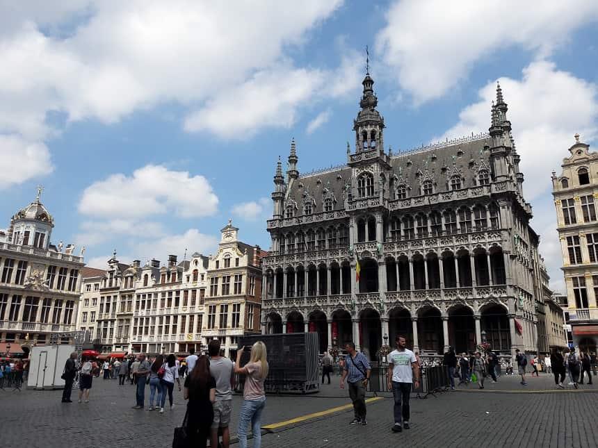 De Grote Markt, Grand-Place, in het centrum van Brussel
