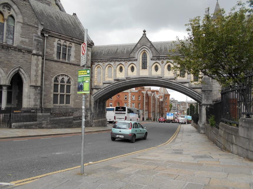 Christ Church in hartje Dublin