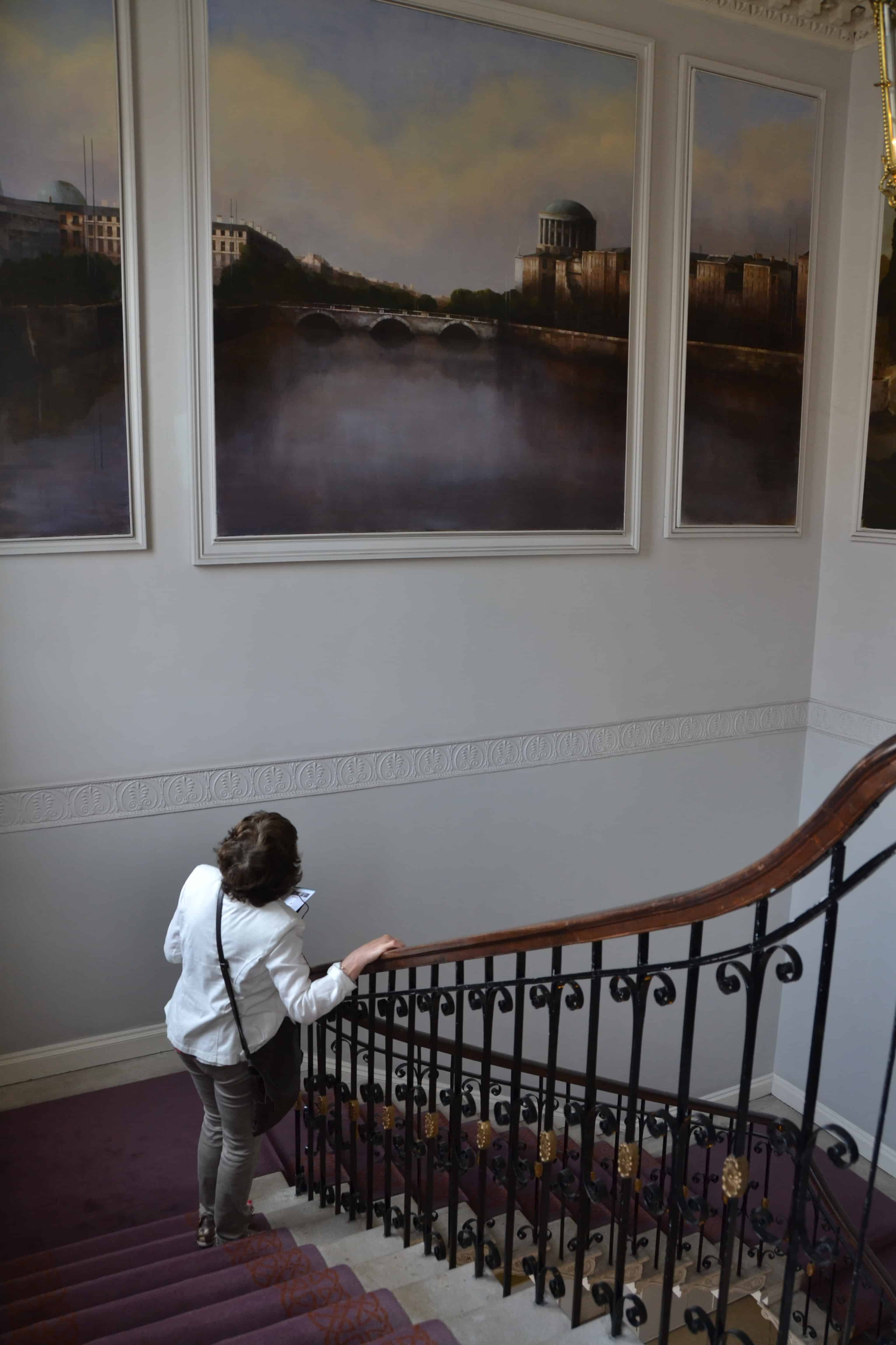 Kunst in Dublin in het Merrion hotel