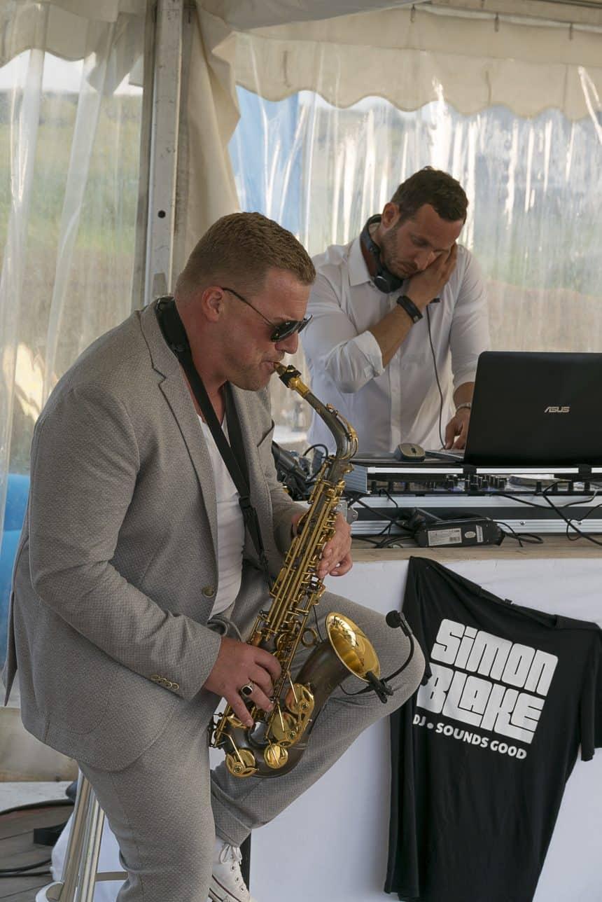 Saxofonist Damon Blake White Sands Festival