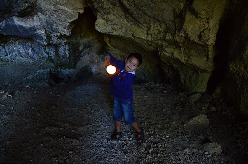 Grotte de Niaux in de Ariège in Frankrijk