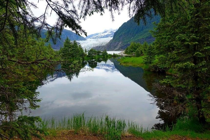 Mendenhall gletsjer glacier Alaska