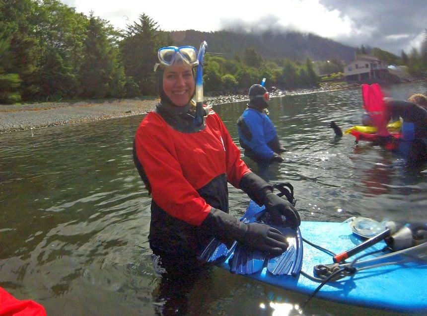 Snorkelen in Alaska