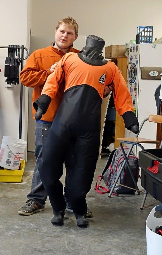 Dry suit snorkelen Alaska