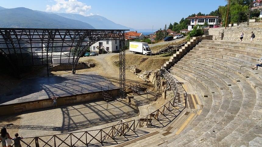 amfitheater ohrid