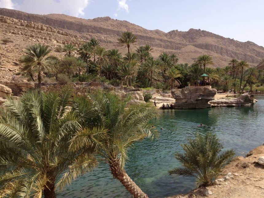 groene wadi oman