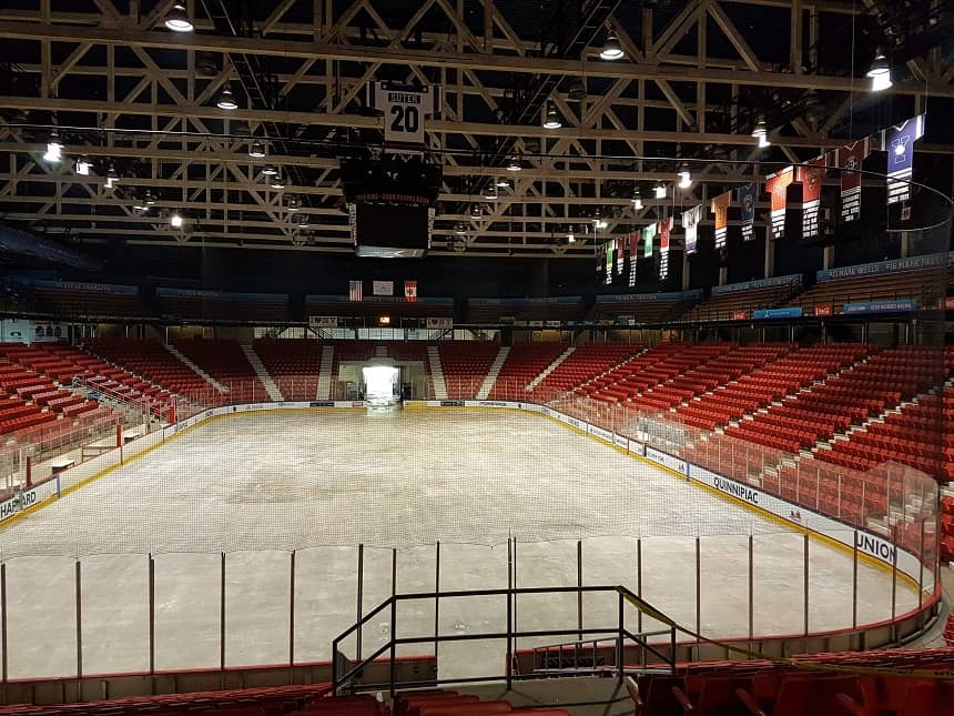 De Herb Brooks Arena waar in 1980 de Miracle on Ice plaatsvond
