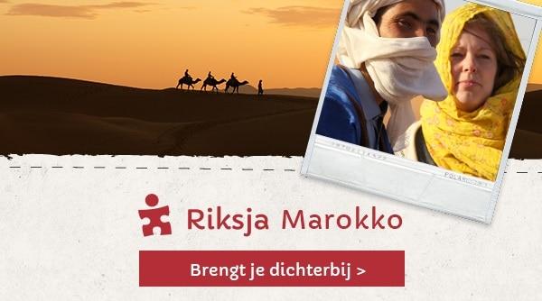 riksja marokko