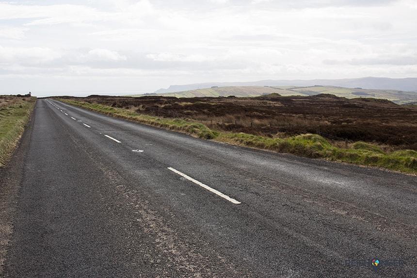 Causeway Coastal Route: eindeloze wegen