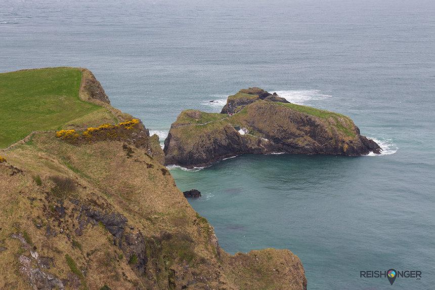 Carrick-a-Rede is maar een klein eilandje