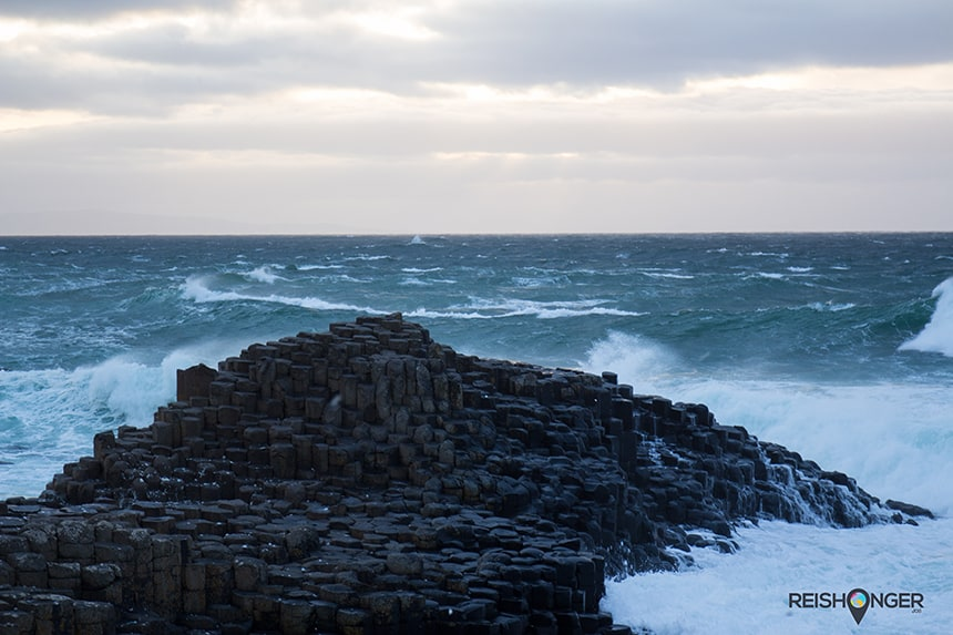 Giant's Causeway in volle glorie