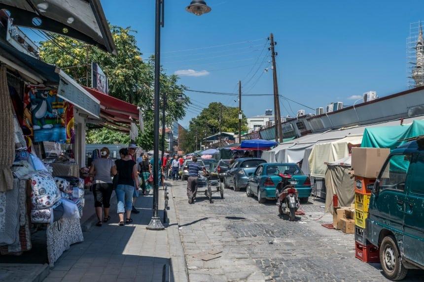 Markt oude bazaar