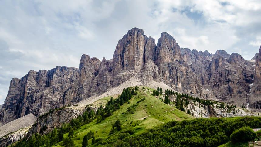 Fraaie berglandschappen in Val Gardena
