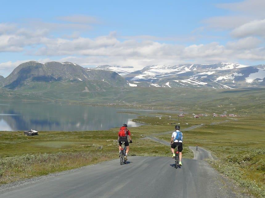 De Mjølkevegen - fietsen langs de Noorse Melkweg
