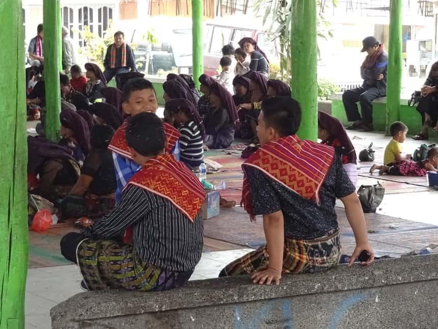 begrafenisceremonie sumatra