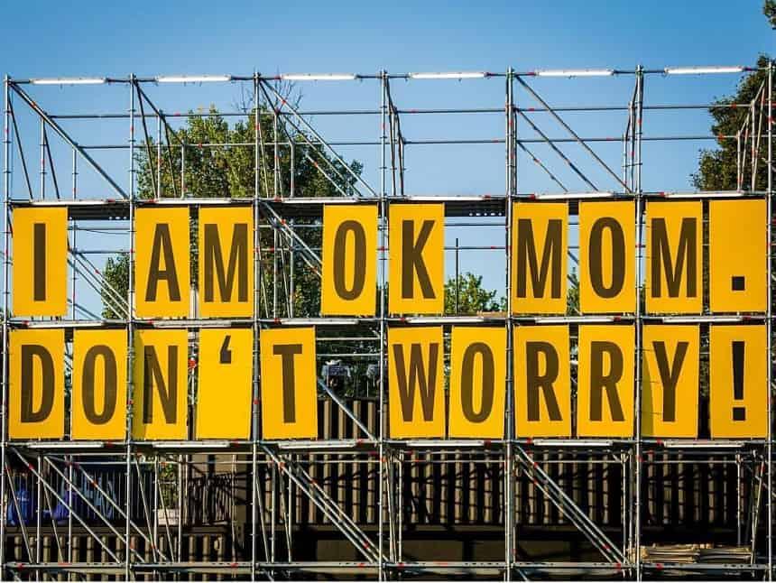 I'm ok mom